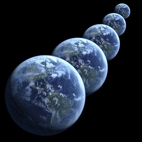 Five planet Earths