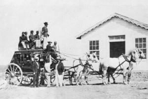 Stagecoach ca. 1869